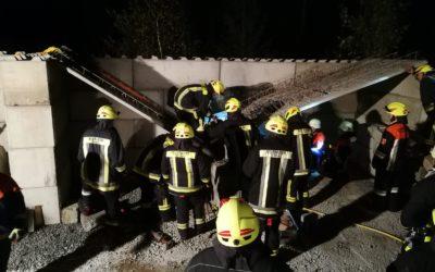Übung am Objekt   Feuerwehr Thyrnau bei uns